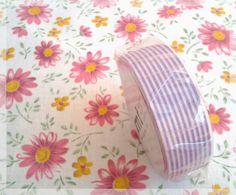 MT tape purple stripe washi tape