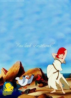 You look sensational! The little mermaid iphone background