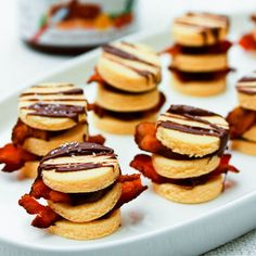 Bacon and Nutella Napoleons   22 Mouthwatering Desserts Improved By Bacon