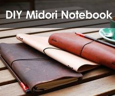 A Midori style traveler's notebook is a great project - it's simple to make, and you can use whatever material you have on hand. I love the flexibility of this...