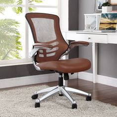 Modway Attainment Mid-Back Mesh Office Chair | AllModern