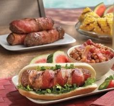 How about Cosby's bacon burger dog on Nat'l Hot Dog Day?