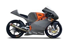 The newly released KTM RC390 'should have' looked like this, the £50k (+ another £50k for competition) KTM Moto3 250cc 4 stroke... if not, then like the Mototech KTM RC4 (previously pinned here)... sadly it looks like neither.