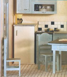How to: Miniature kitchen.