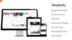 Simplicity is a responsive, retina ready WordPress Theme for portfolios and business related websites. Because of its responsive designs it easily fits on your screen size and looks great on all iPhone, i pads and laptops. Chekc it out for more : http://yoctotemplates.com/simplicity-mojothemes-responsive-businessportfolio-wp-theme/