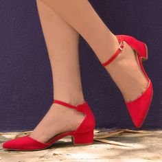 ankle straps heels after bunion Red Shoes, Sock Shoes, Cute Shoes, Red Flats, Flat Shoes, Baby Shoes, Ankle Straps, Ankle Strap Sandals, Flat Sandles