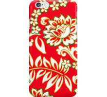 Tropical Eggnog Punch iPhone Case/Skin by Vikki Salmela, #new for the #holiday! #tropical #vintage #Hawaiian #floral #flower in #red #green and #white on #tech #fashion #accessories, #iphone #cases and #skins. Great for a holiday look, #home #office or special #gift.