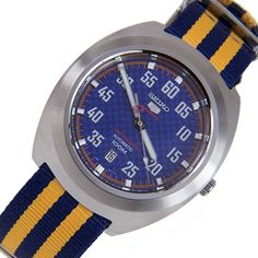 A-Watches.com - Seiko 5 Sports SRPA91K1 SRPA91 Classic Automatic Blue Dial Nylon Band 100m Date Gents Watches, $171.00 (https://www.a-watches.com/seiko-5-sports-srpa91k1-srpa91-classic-automatic-blue-dial-nylon-band-100m-date-gents-watches/)