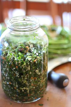 Herbs develop them protect them savor them Spice Blends, Spice Mixes, Chimichurri, Canning Recipes, Wine Recipes, Marinade Sauce, Preserving Food, Permaculture, Preserves
