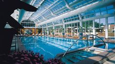 Swimming pool conservatory