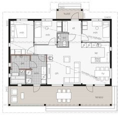 Future House, My House, My Dream Home, Interior Architecture, House Plans, Sweet Home, New Homes, Floor Plans, Cottage