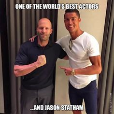 One of The World's Best Actors and Jason Statham