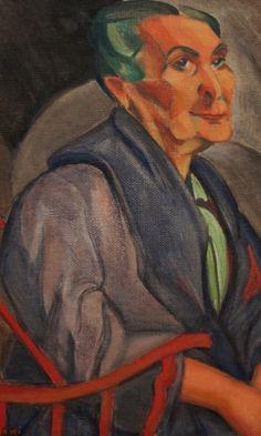 """Mulher de cabelos verdes, 1915 1916, de Anita Malfatti. Óleo sobre tela. Coleção particular.<br> """"Tarsila e Mulheres Modernas no Rio"""" fica no MAR (Museu de Arte do Rio) até 20 de setembro. Os ingressos custam R$ 8 (inteira) e R$ 4 (meia). Às terças-feiras é gratuito para todos. O MAR  fica na Praça Mauá, 5, centro."""