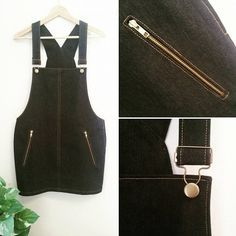Fitted Overalls Pinafore | Kommatia Patterns