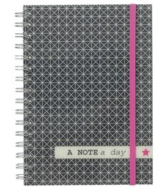 HEMA stationery - A5 notitieboek met 2 pockets.