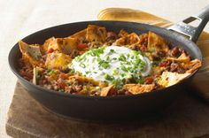 Quick-Fix Beef Burrito Skillet recipe