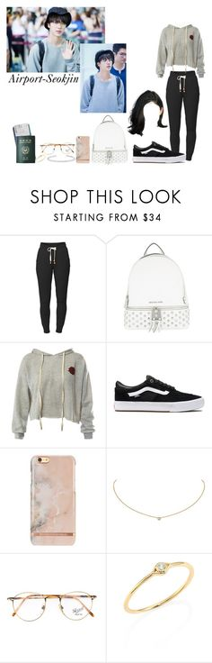 """""""Sem título #991"""" by army-forever ❤ liked on Polyvore featuring Lija, MICHAEL Michael Kors, Sans Souci, Vans, Cartier, Persol, Sydney Evan, Jennifer Fisher and Passport"""