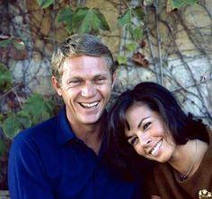 Mr. and Mrs. Steve McQueen