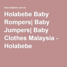 20db70ff269a 11 Best Baby Rompers images