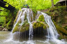 Bigăr is one of the most unusual waterfalls in the world and one of the most beautiful in Romania. According to The World Geography,[6] there are a number of facts that place her as number one on the list of eight unique waterfalls around the world due to the way the water spreads and falls in tiny shreds of water, and also the fact that it is located exactly on the 45th parallel north, at the halfway point between the Equator and the North Pole. World Geography, North Pole, Number One, Mother Earth, Waterfalls, Romania, Spreads, Most Beautiful, Blessed