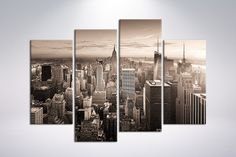 Canvas art print New York Manhattan  48x 34.5 4 by CanvasRevel