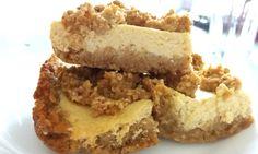 Reseptejä ja treenejä: Kevyt gluteeniton omena-rahkapiirakka