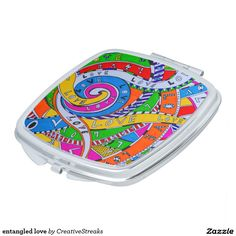 entangled love compact mirrors