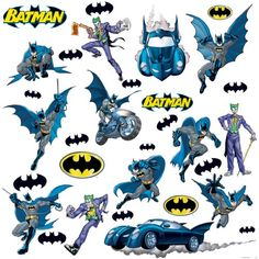 RoomMates RMK1148SCS Batman: Gotham Guardian Peel & Stick Wall Decals $12.89