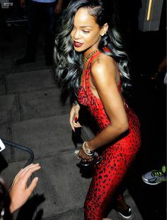 """Rihanna""""s grey hair"""