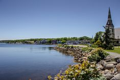 Nova Scotia's South Shore: Historic Lunenburg and charming Mahone Bay Nova Scotia Travel, Bay Canada, Stuff To Do, Things To Do, Canada Travel, Lighthouse, Baby Born, Things To Make, Bell Rock Lighthouse