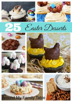 These 25 beautiful Easter desserts are sure to inspire you to make something delicious for your family.