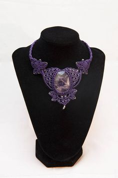 Hey, I found this really awesome Etsy listing at https://www.etsy.com/listing/558831966/macrame-baroque-statement-necklace