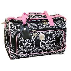 Jenni Chan Damask City Duffel *** Check out this great product.