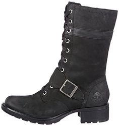 bc25c8cba94 Timberland Women s Charles St FTW EK Charles St Mid Lace WP Boot Boots Black  Size  4.5  Amazon.co.uk  Shoes   Bags