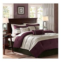Product: Palmer 7-pc. Comforter Set by Madison Park®