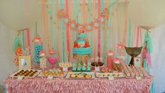So many adorable details in this Mermaid Themed Birthday Party - Pretty My Party