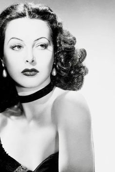 Hedy Lamarr ~ actress  Frequency-hopping spread-spectrum invention inventor - Lamarrs frequency idea is currently served as a base for modern spread-spectrum communication technology, such as Bluetooth (used in Wi-Fi network connections) BET YOU DIDNT KNOW THAT HUH ? ~ WHATEVER THE PASSION.... FIND YOUR REAL LIVE WOMAN !