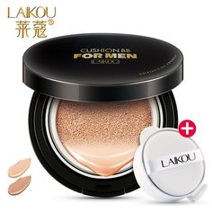 LAIKOU Brand New Men Air Cushion BB Cream Moisturizing Sunscreen for Face BB & CC Creams Oil Control Concealer LK1732413