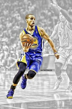 """Stephen Curry of the Golden State Warriors. Did you know that his real name is not Stephen or Steph? His legal name is Wardell Stephen Curry, named after his father, """"Dell' Curry."""