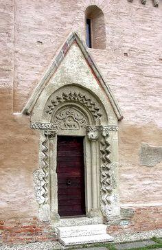Medieval Árpád Age church, Csempeszkopács, Hungary