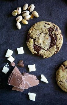 Salted White and Dark Chocolate Pistachio Cookie Recipe From 'Glazed & Confused'