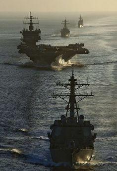 US NAVY USN aircraft carrier USS Enterprise 8X12 PHOTO RIM-7 missile CVN 65