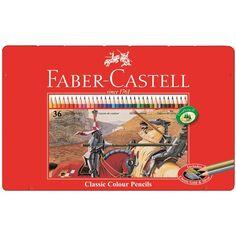 Buntstift Castle hexagonal 36er Metall Ca. 19,50€