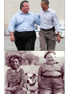 Apparently Chris Christie and Obama were childhood friends.