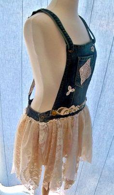 tunic Rockabilly dress Boho tunic denim and by Lifeloveandmusic, $55.00