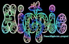 H-I-P-P-I-E #HippieFont
