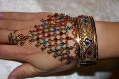 hand jewelry - bollywood