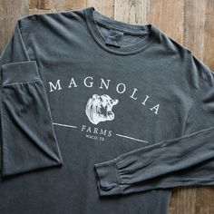Pepper Magnolia Farms Long Sleeve Shirt