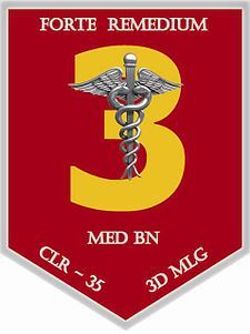 3d Medical Battalion (3D MED BN) at Camp Hansen Okinawa Marine Corps Base.