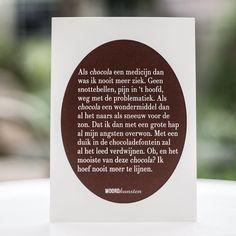 Vandaag: - de warmste 13 september in jaren....! - dag van één van de beste schrijvers: Roald Dahl! Wat las jij van hem? - de boekpresentatie van Brigitte Lommers waarvoor ik gevraagd ben een gedicht speciaal voor het boek geschreven voor te dragen. Na de presentatie zal de kaart hier gedeeld worden en ook te koop zijn. Daarover later meer. - internationale dag van de chocola! En met dit weer zeg ik: snel opeten voor het smelt!  Melk of puur wat wil jij? #woordkunsten #chocola…